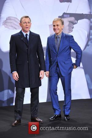 Daniel Craig , Christoph Waltz - James Bond Spectre Premiere in Berlin - Berlin, Germany - Wednesday 28th October 2015