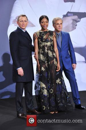 Daniel Craig, Naomie Harris , Christoph Waltz - James Bond Spectre Premiere in Berlin - Berlin, Germany - Wednesday 28th...