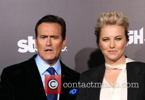 Bruce Campbell and Lucy Lawless