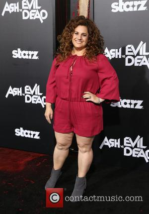 Marissa Jaret Winokur - STARZ presents the Los Angeles premiere of 'Ash Vs Evil Dead' - Arrivals at TCL Chinese...