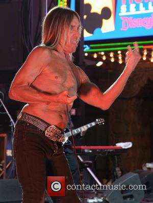 Iggy Pop - Iggy Pop performs live at the Los Angeles premiere of 'Ash vs. Evil Dead' at TCL Chinese...
