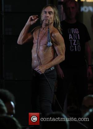 Iggy Pop - Iggy Pop performs live at the Los Angeles premiere of 'Ash vs. Evil Dead' - Los Angeles,...