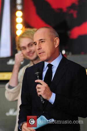 Matt Lauer - 5 Seconds of Summer performs on Today Show concert series - NY, New York, United States -...