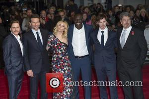 Daniel Bruhl, Bradley Cooper, Sienna Miller, Omar Sy, Sam Keeley and John Wells