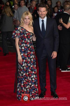 Sienna Miller , Bradley Cooper - The European Premiere of 'Burnt' held at the Vue West End - Arrivals at...