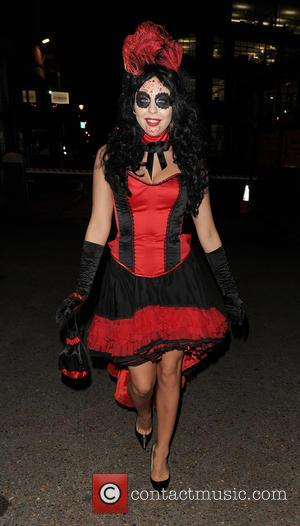 Lydia Bright - Celebrities attending various Halloween parties all over London - London, United Kingdom - Wednesday 28th October 2015