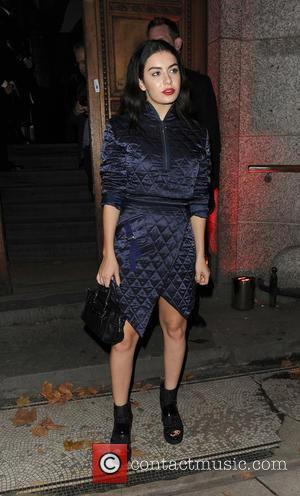 Charli XCX - Celebrities attending various Halloween parties all over London - London, United Kingdom - Wednesday 28th October 2015