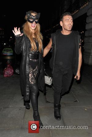Lindsay Lohan and Mert Alas
