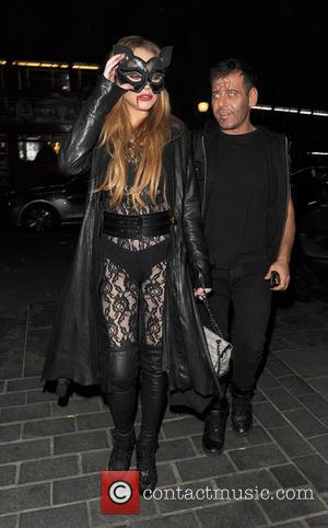 Lindsay Lohan , Mert Alas - Celebrities attending various Halloween parties all over London - London, United Kingdom - Wednesday...