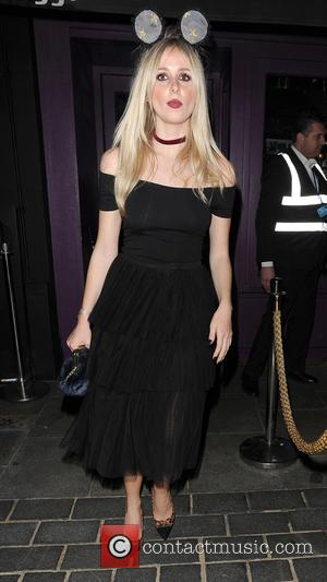 Diana Vickers - Celebrities attending various Halloween parties all over London - London, United Kingdom - Wednesday 28th October 2015