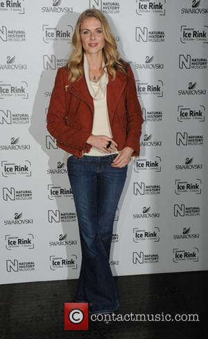 Donna Air - Natural History Museum Swarovski Ice Rink Launch Party in London. - London, United Kingdom - Wednesday 28th...