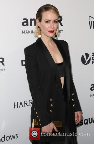 Sarah Paulson - Celebrities attend 2015 amfAR's Inspiration Gala Los Angeles at Milk Studios. at Milk Studios - Los Angeles,...