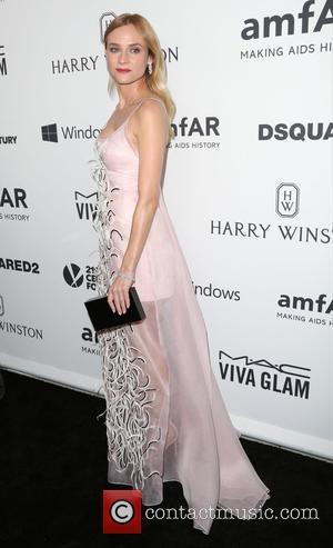 Diane Kruger - Celebrities attend 2015 amfAR's Inspiration Gala Los Angeles at Milk Studios. at Milk Studios - Los Angeles,...