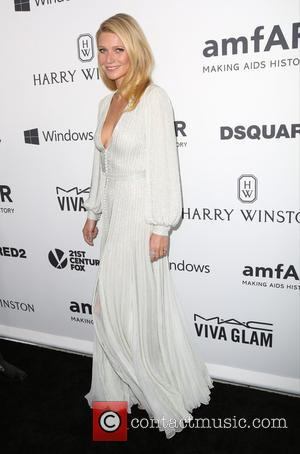 Gwyneth Paltrow - Celebrities attend 2015 amfAR's Inspiration Gala Los Angeles at Milk Studios. at Milk Studios - Los Angeles,...