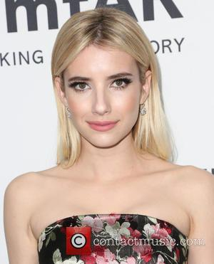 Emma Roberts - Celebrities attend 2015 amfAR's Inspiration Gala Los Angeles at Milk Studios. at Milk Studios - Los Angeles,...