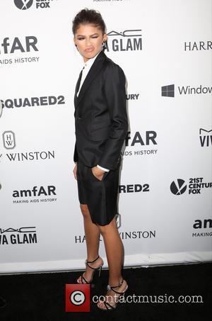 Zendaya Coleman - Celebrities attend 2015 amfAR's Inspiration Gala Los Angeles at Milk Studios. at Milk Studios - Los Angeles,...