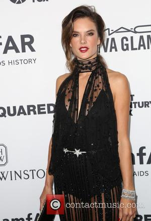 Alessandra Ambrosio - Celebrities attend 2015 amfAR's Inspiration Gala Los Angeles at Milk Studios. at Milk Studios - Los Angeles,...