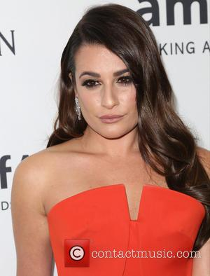 Lea Michele - Celebrities attend 2015 amfAR's Inspiration Gala Los Angeles at Milk Studios. at Milk Studios - Los Angeles,...