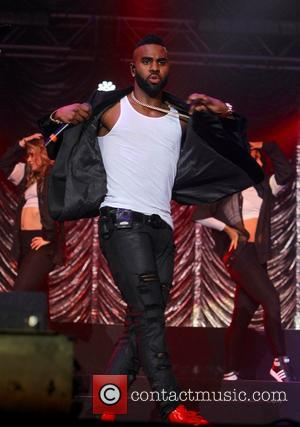 Jason Derulo - Artists perform at the KISS FM Haunted House Party Halloween concert at wembley arena - London, United...