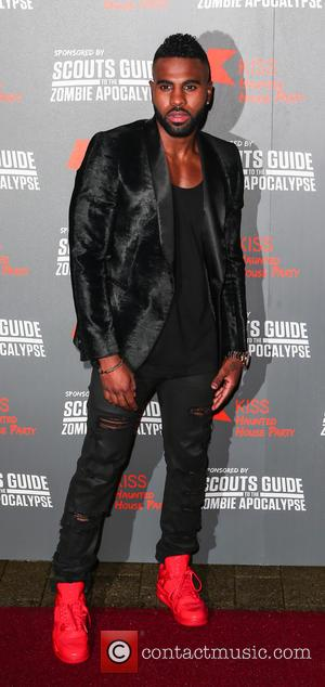Jason Derulo - Red carpet arrivals for Kiss FM's Haunted House Party at The SSE Arena at Wembley at The...