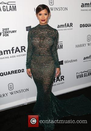 Rocsi Diaz - Celebrities attend 2015 amfAR's Inspiration Gala Los Angeles at Milk Studios. at Milk Studios - Los Angeles,...