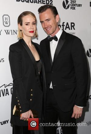 Sarah Paulson , Guest - Celebrities attend 2015 amfAR's Inspiration Gala Los Angeles at Milk Studios. at Milk Studios -...