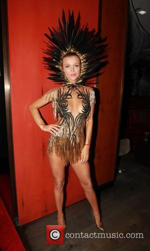 Joanna Krupa - Celebrities attend a Halloween Party in Hollywood - Hollywood, California, United States - Thursday 29th October 2015