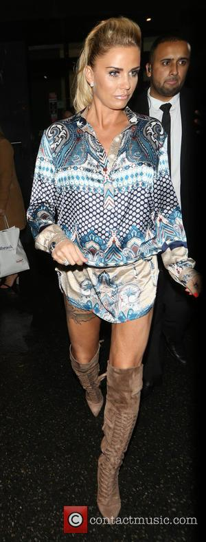 Katie Price - Katie Price leaving Chak89 restaurant after attending a Gala dinner in London - London, United Kingdom -...