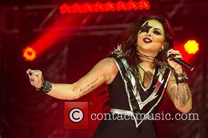 Jesy Nelson - KISS FM Haunted House Party held at The SSE Arena, Wembley - Performances at The SSE Arena...