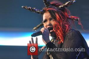 Eva Simons - Let's Dance at Ziggo Dome - Amsterdam, Netherlands - Thursday 29th October 2015