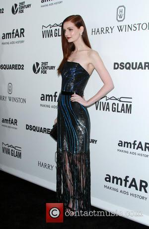 Lydia Hearst - 6th Annual amfAR's Inspiration Gala held at Milk Studios at Milk Studios - Los Angeles, California, United...