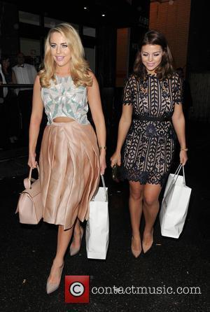 Lydia Bright , Chloe Lewis - Celebrities leaving a Gala Dinner, held in South West London - London, United Kingdom...