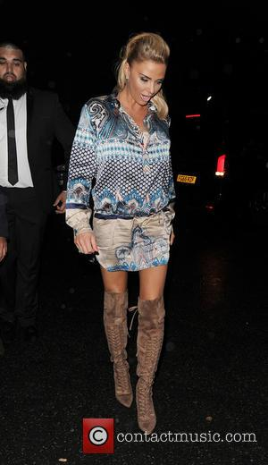 Katie Price - Celebrities leaving a Gala Dinner, held in South West London - London, United Kingdom - Thursday 29th...