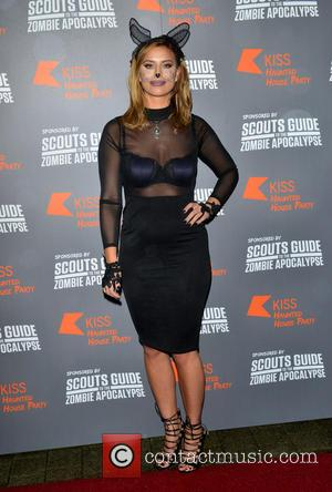 Ferne McCann - The KISS FM Haunted House Party at the SSE Wembley Arena in London at SSE Wembley Arena,...