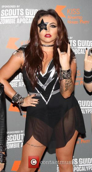 Jesy Nelson - Kiss FM's Haunted House Party at SSE Wembley Arena - Red Carpet Arrivals at SSE Wembley Arena,...