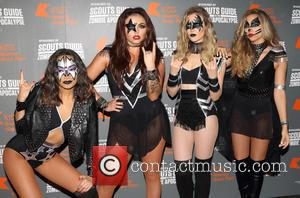 Little Mix - Kiss FM's Haunted House Party at SSE Wembley Arena - Red Carpet Arrivals at SSE Wembley Arena,...