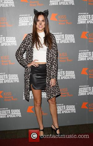 Lucy Watson - Kiss FM's Haunted House Party at SSE Wembley Arena - Red Carpet Arrivals at SSE Wembley Arena,...