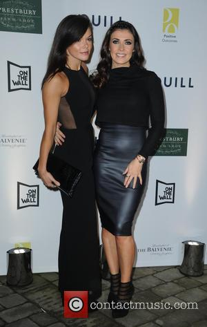 Kym Marsh , Faye Brookes - Celebrities attend Quill Restaurant launch Manchester City Centre. - Manchester, United Kingdom - Thursday...