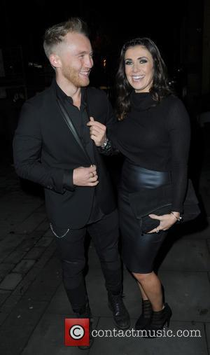 Kym Marsh , Matt Baker - Celebrities attend Quill Restaurant launch Manchester City Centre. - Manchester, United Kingdom - Thursday...