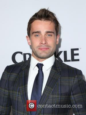 Christian Cooke - Los Angeles Premiere for Crackle's
