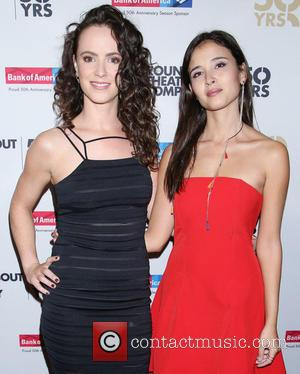 Amy Manson and Joana Metrass
