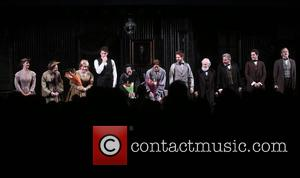 cast - Opening night for Broadway play Therese Raquin at Studio 54 - Curtain Call. at Studio 54, - New...