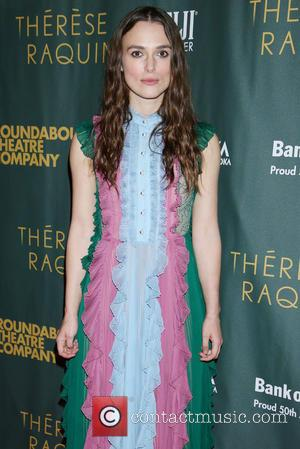 Keira Knightley - Opening night after party for Broadway play Therese Raquin at Studio 54 - Arrivals. at Studio 54,...