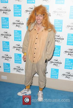 Hugh Grant - Unicef Halloween Ball 2015 held at One Marylebone - Arrivals - London, United Kingdom - Thursday 29th...