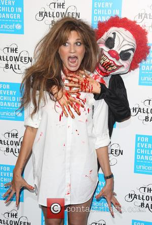 Jemima Khan - Unicef Halloween Ball 2015 held at One Marylebone - Arrivals - London, United Kingdom - Thursday 29th...
