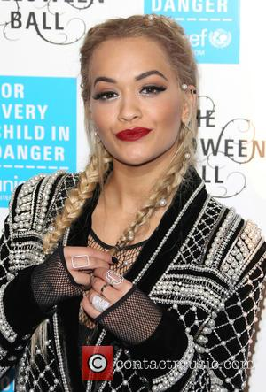 Rita Ora - Unicef Halloween Ball 2015 held at One Marylebone - Arrivals - London, United Kingdom - Thursday 29th...