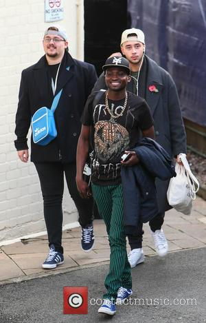 Che Chesterman, Bollie , Mason Noise - X Factor finalists arrive at rehearsals for this weekend's first X Factor live...