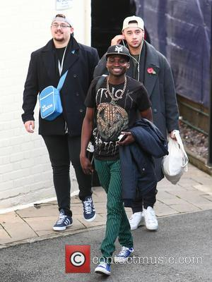 Che Chesterman, Bollie , Mason Noise - X Factor contestants arrive at rehearsals for this Saturday's first live show. at...
