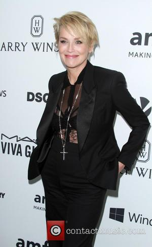Sharon Stone - 6th Annual amfAR's Inspiration Gala held at Milk Studios at Milk Studios - Los Angeles, California, United...