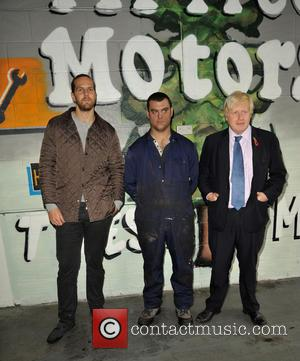 Tom, Patrick and Boris Johnson